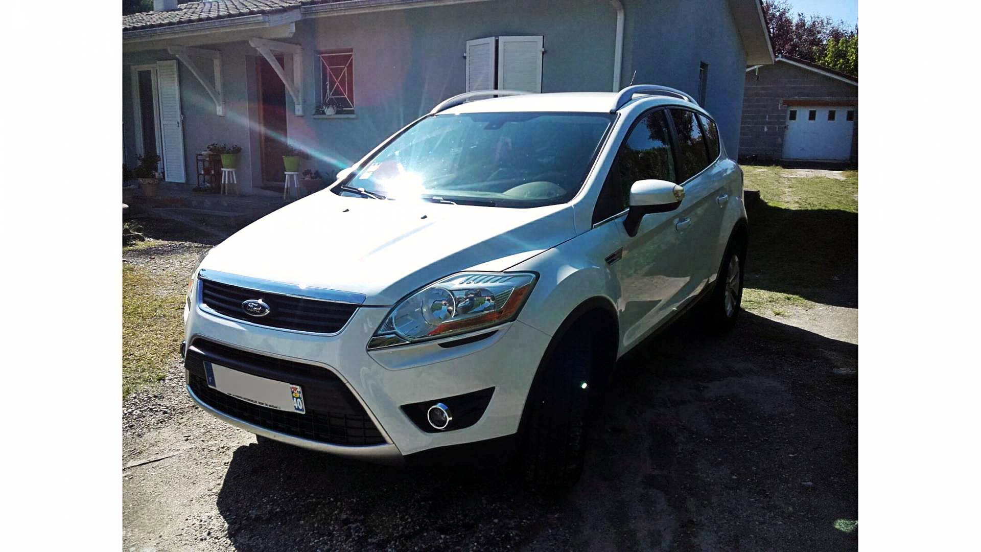 ford kuga d 39 occasion 2 0 tdci 140 titanium 4wd saint paul. Black Bedroom Furniture Sets. Home Design Ideas