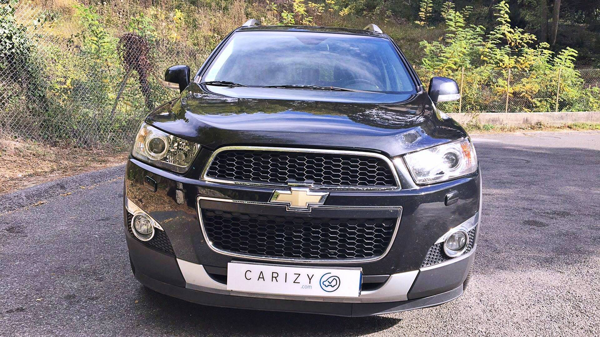 chevrolet captiva d 39 occasion 2 2 vcdi 185 ltz awd bva nice carizy. Black Bedroom Furniture Sets. Home Design Ideas