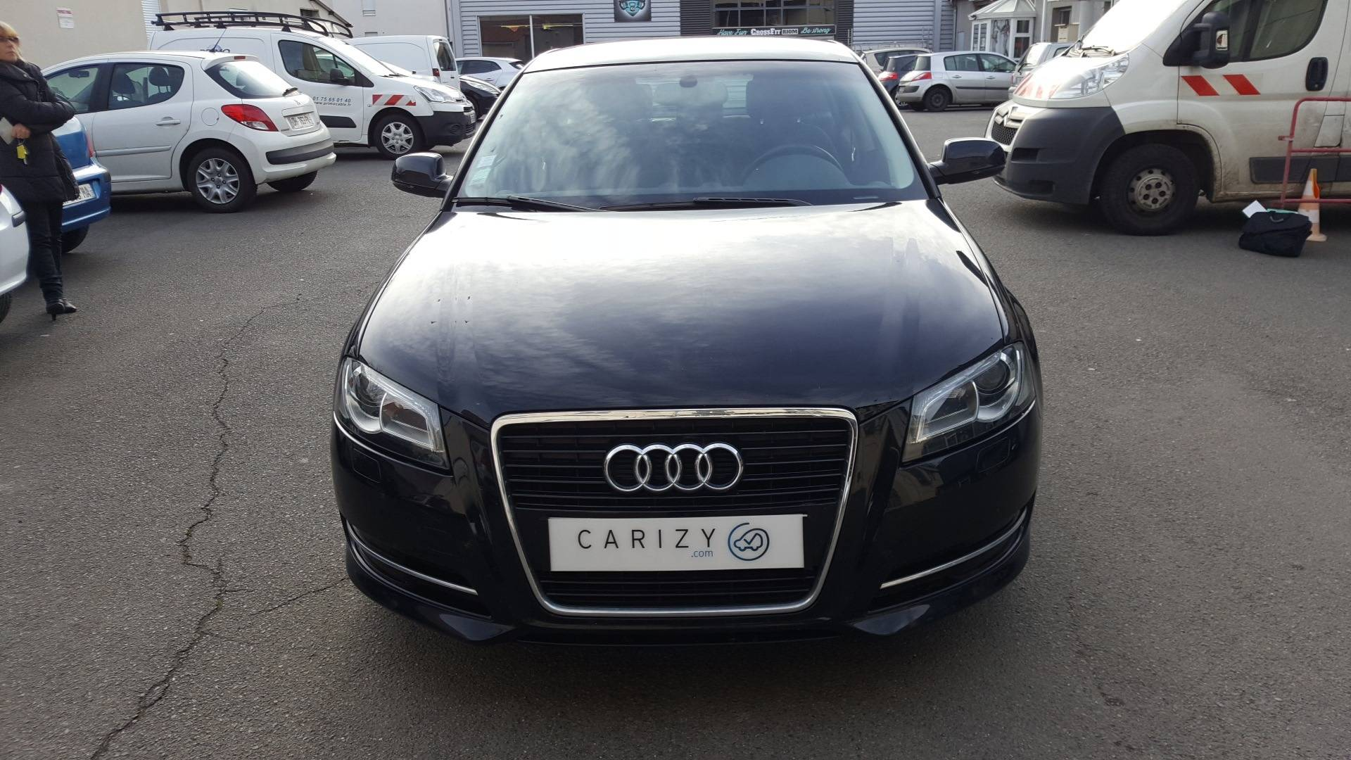 audi a3 d 39 occasion sportback 1 6 tdi 105 attraction start stop clermont ferrand carizy. Black Bedroom Furniture Sets. Home Design Ideas