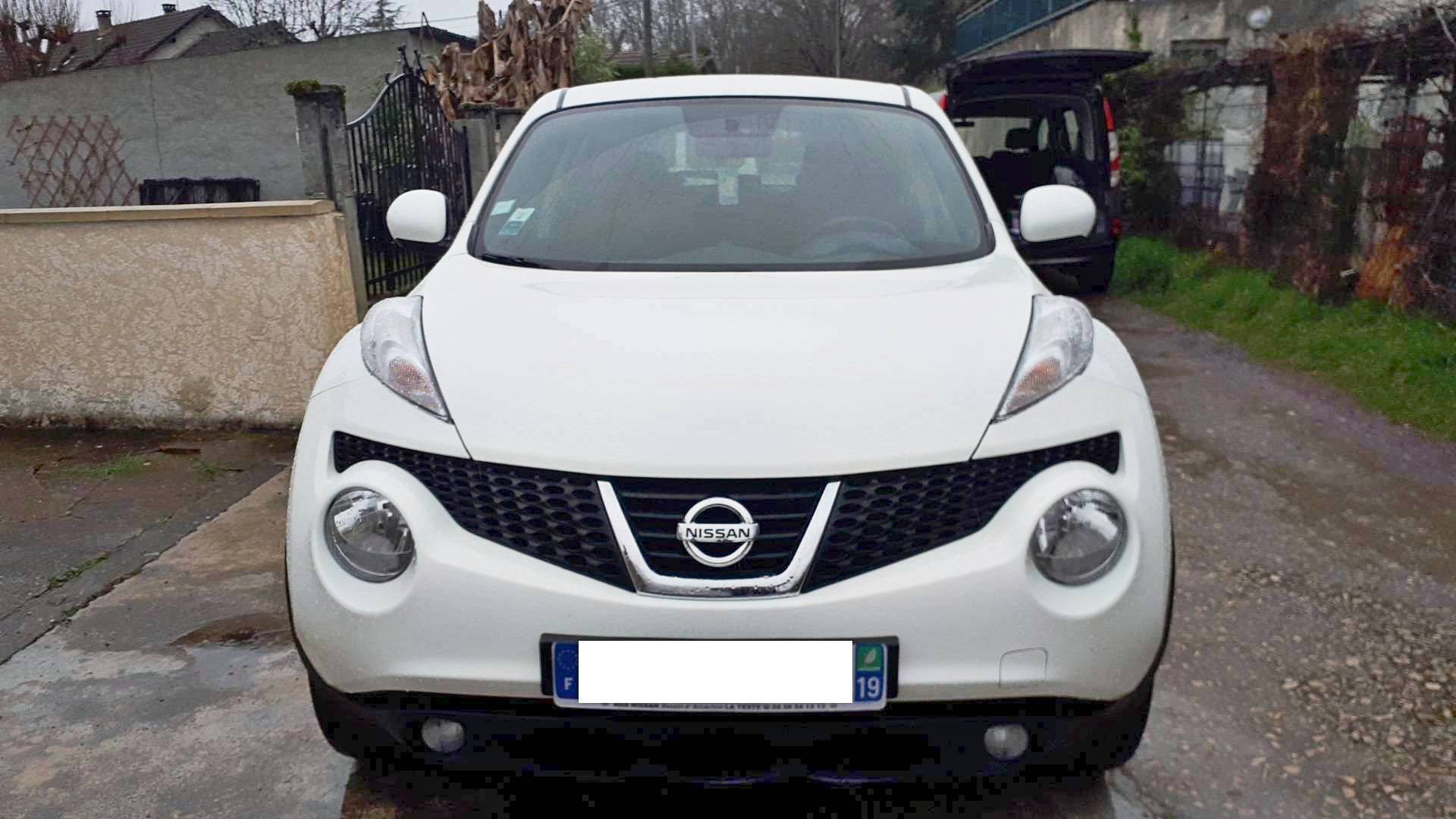 nissan juke d 39 occasion 1 6 115 acenta 2wd brive la gaillarde carizy. Black Bedroom Furniture Sets. Home Design Ideas