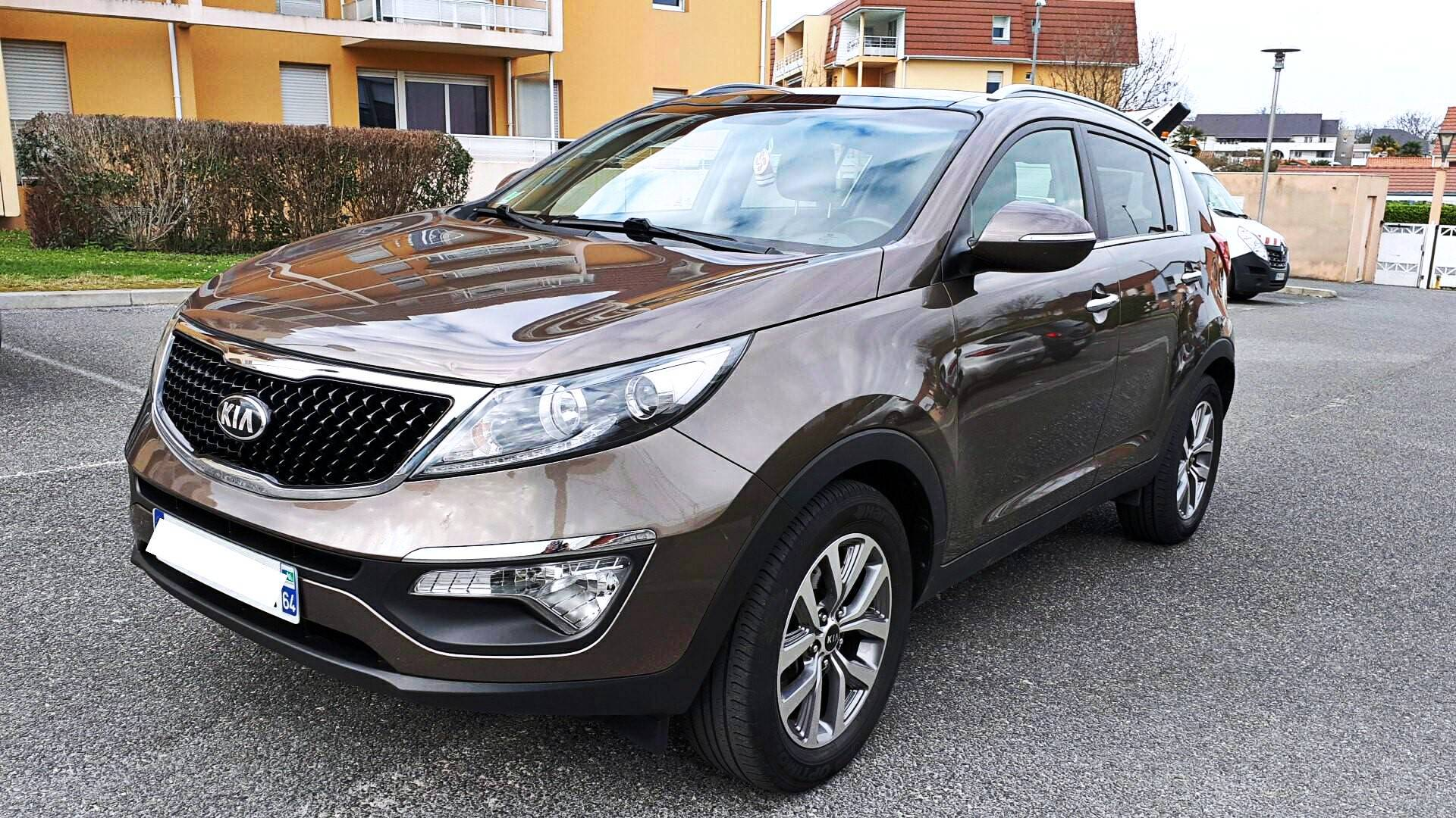 kia sportage d 39 occasion 1 7 crdi 115 active 4x2 isg bill re carizy. Black Bedroom Furniture Sets. Home Design Ideas