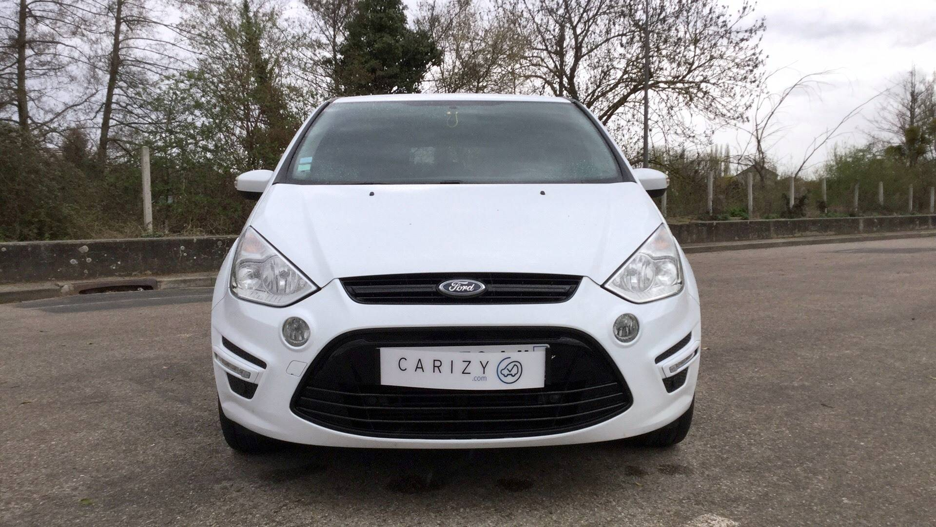 ford s max d 39 occasion 1 6 tdci 115 titanium gps start stop montlu on carizy. Black Bedroom Furniture Sets. Home Design Ideas