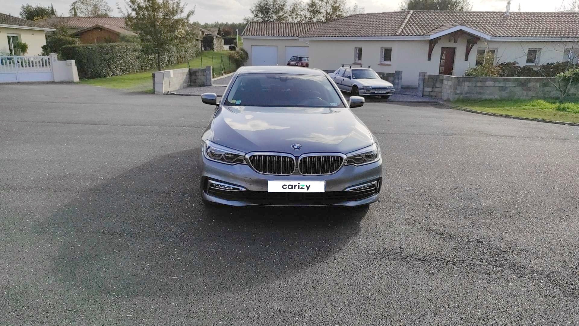bmw serie 5 g30 occasion 2017 face capot