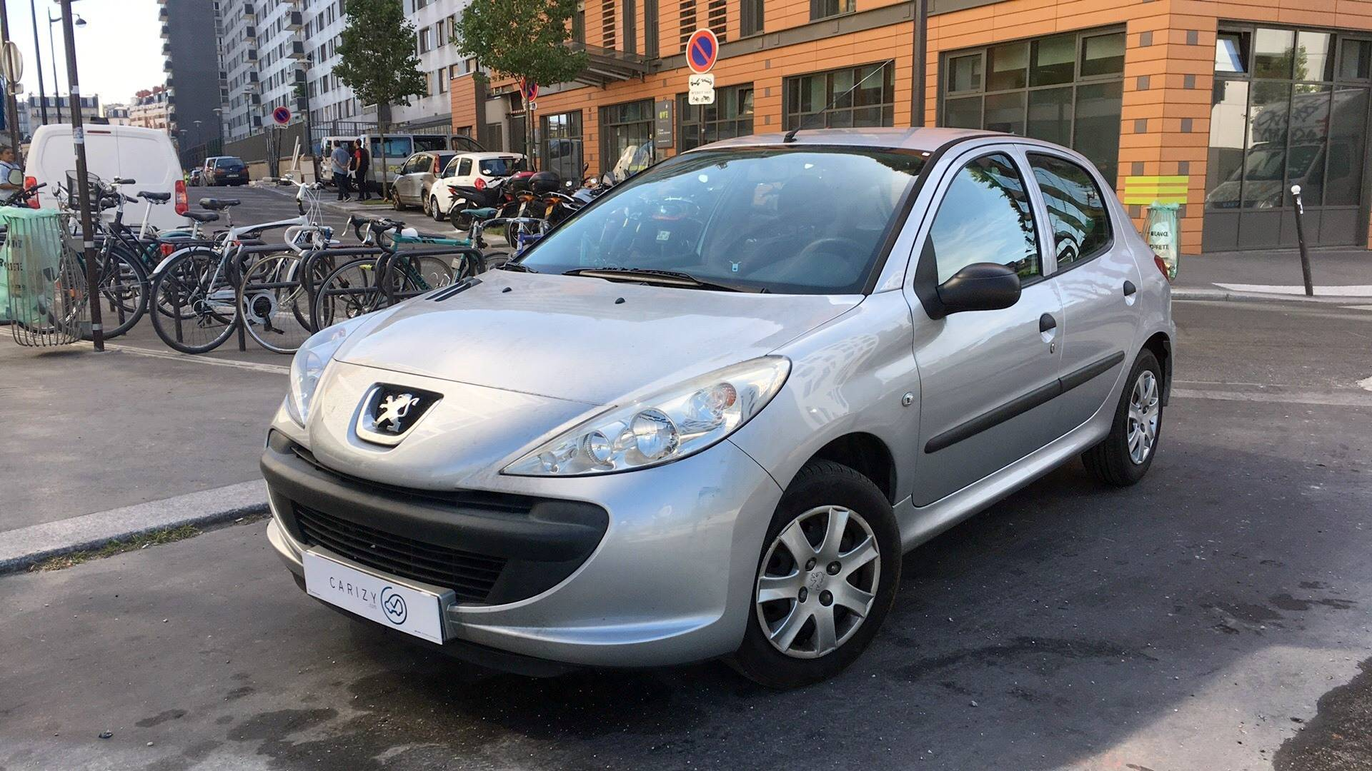 peugeot 206 plus d u0026 39 occasion 1 1 60 urban paris