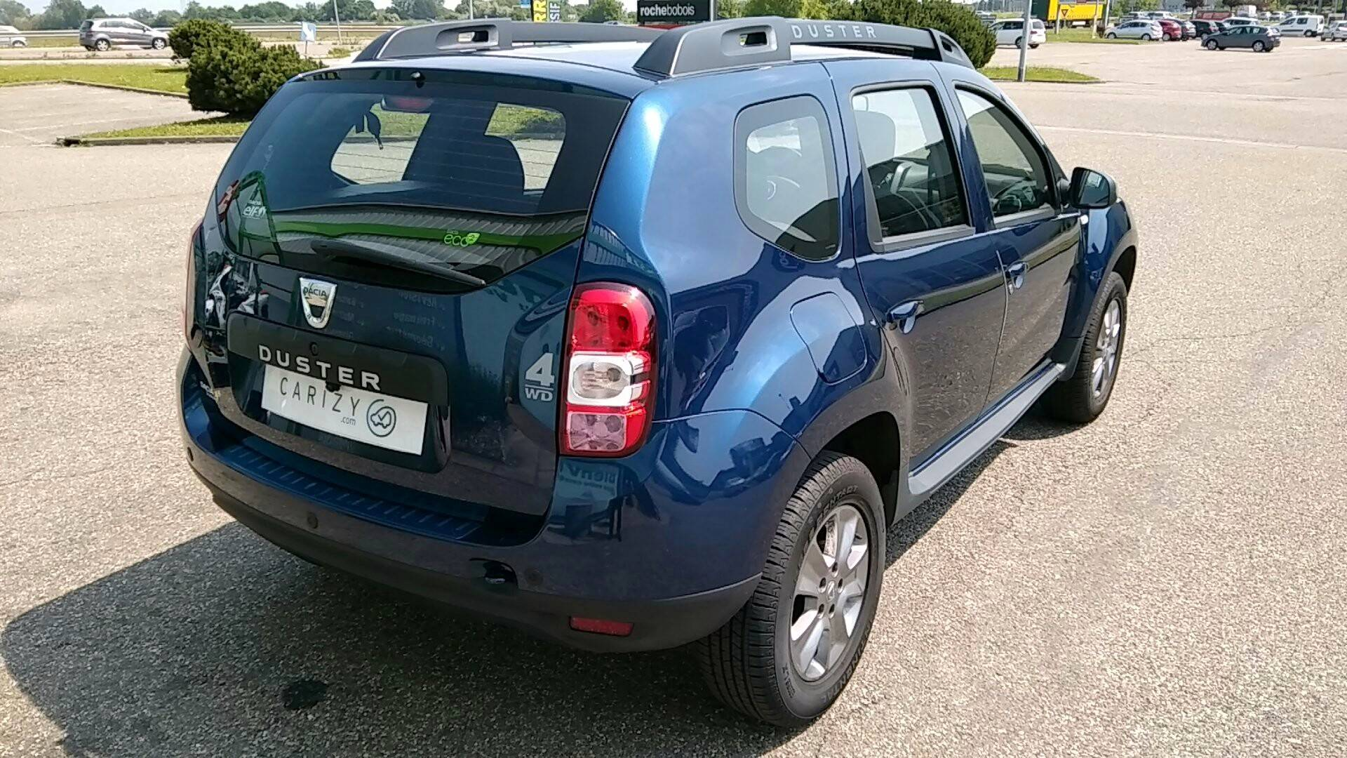 dacia duster d 39 occasion 1 2 tce 125 serie limitee 10 ans 4x2 strasbourg carizy