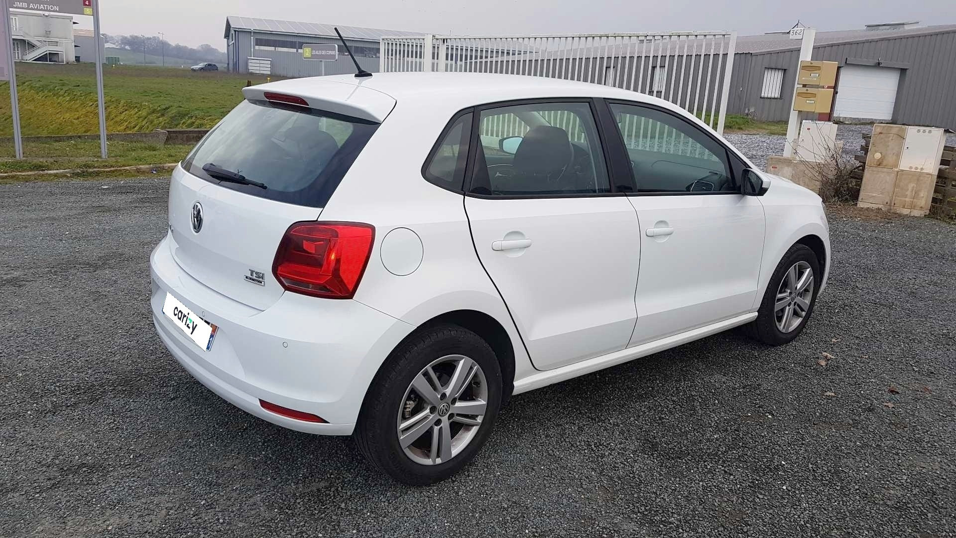 volkswagen polo occasion 2015 profil arriere droit