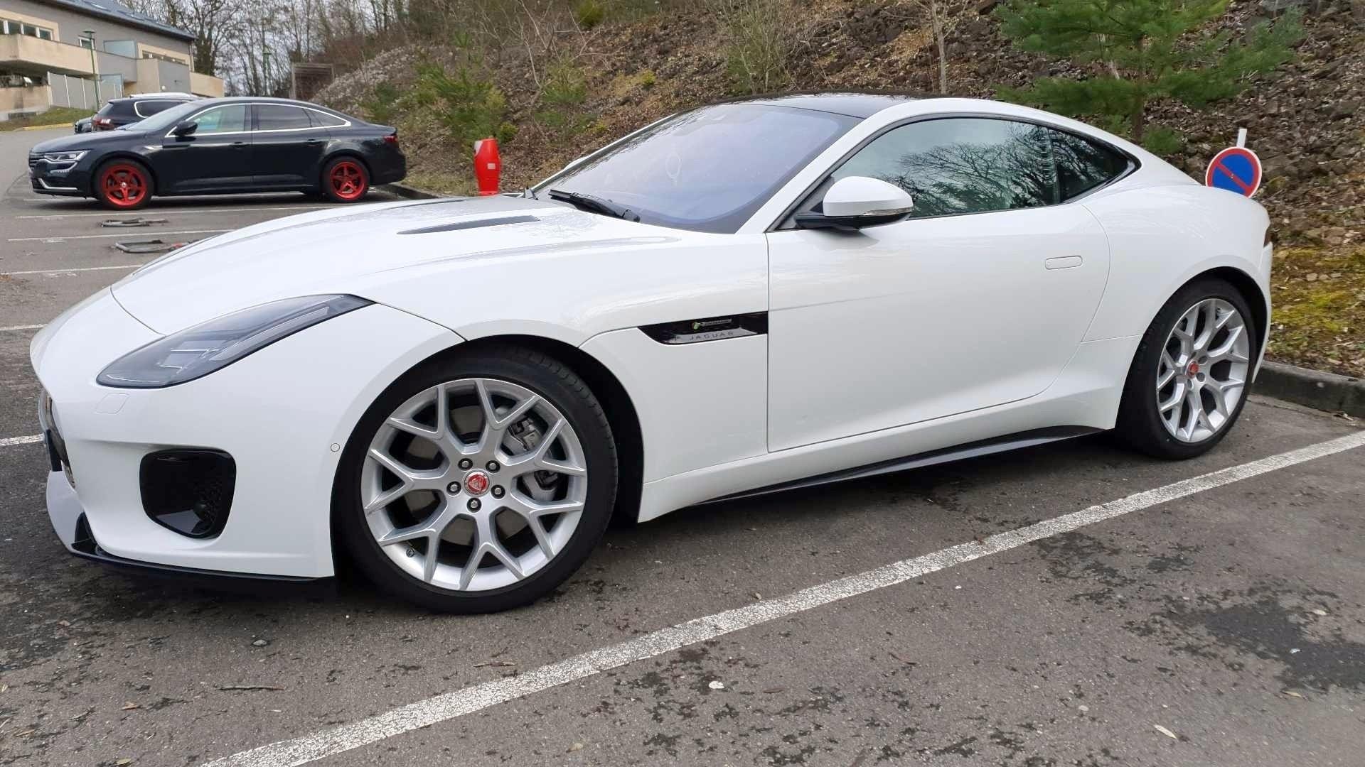jaguar f type coupe occasion 2018 avant gauche