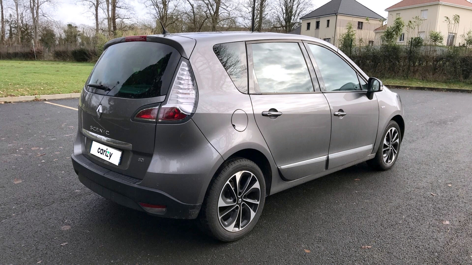 renault scenic iii occasion 2016 profil arriere droit