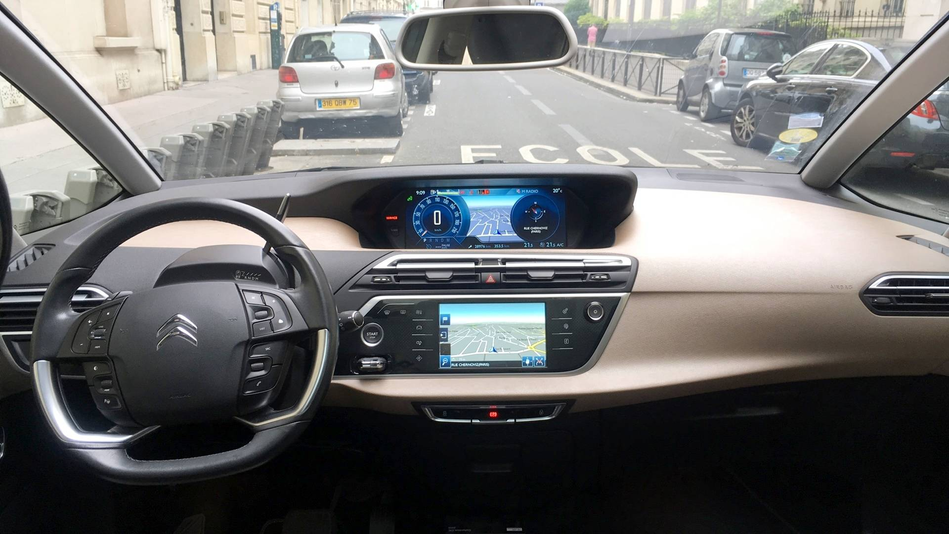 Citroen C4 Grand Picasso D Occasion 2 0 Bluehdi 150 Exclusive Eat Bva Start Stop Paris Carizy