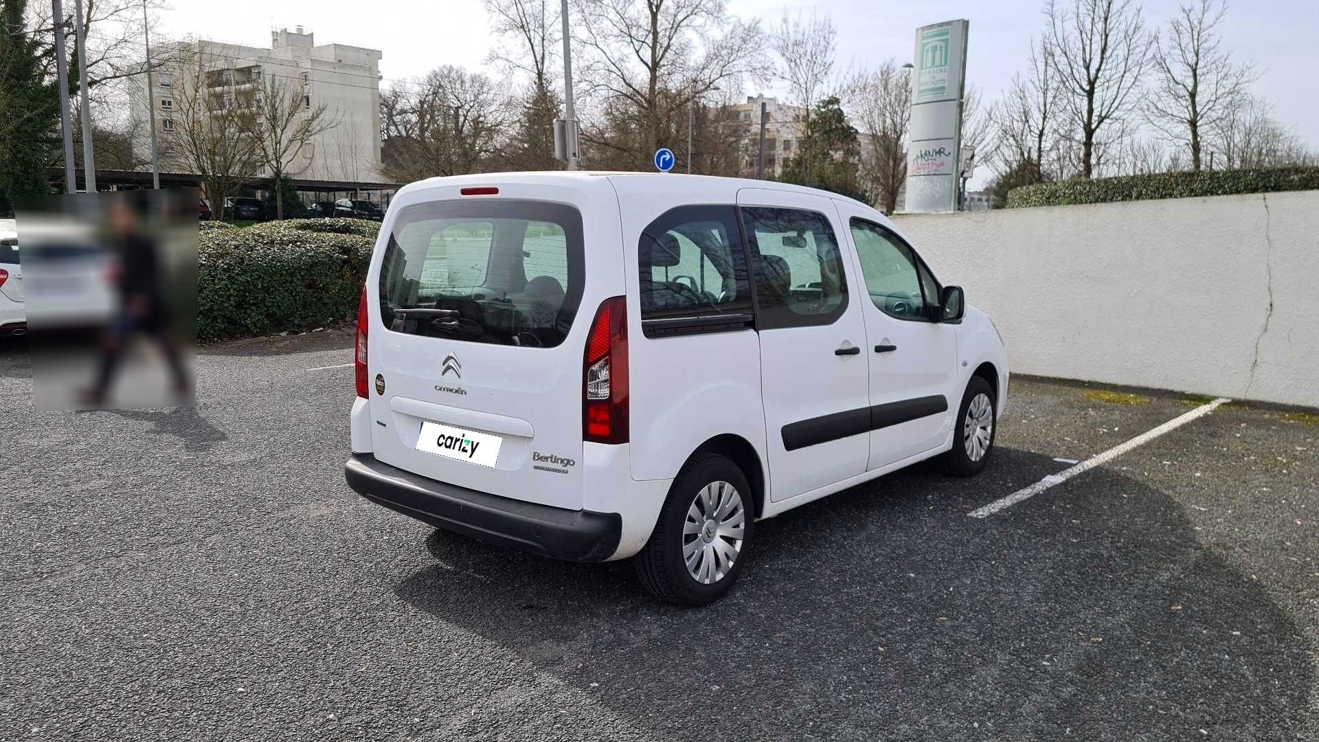 citroen berlingo multispace occasion 2015 profil arriere droit