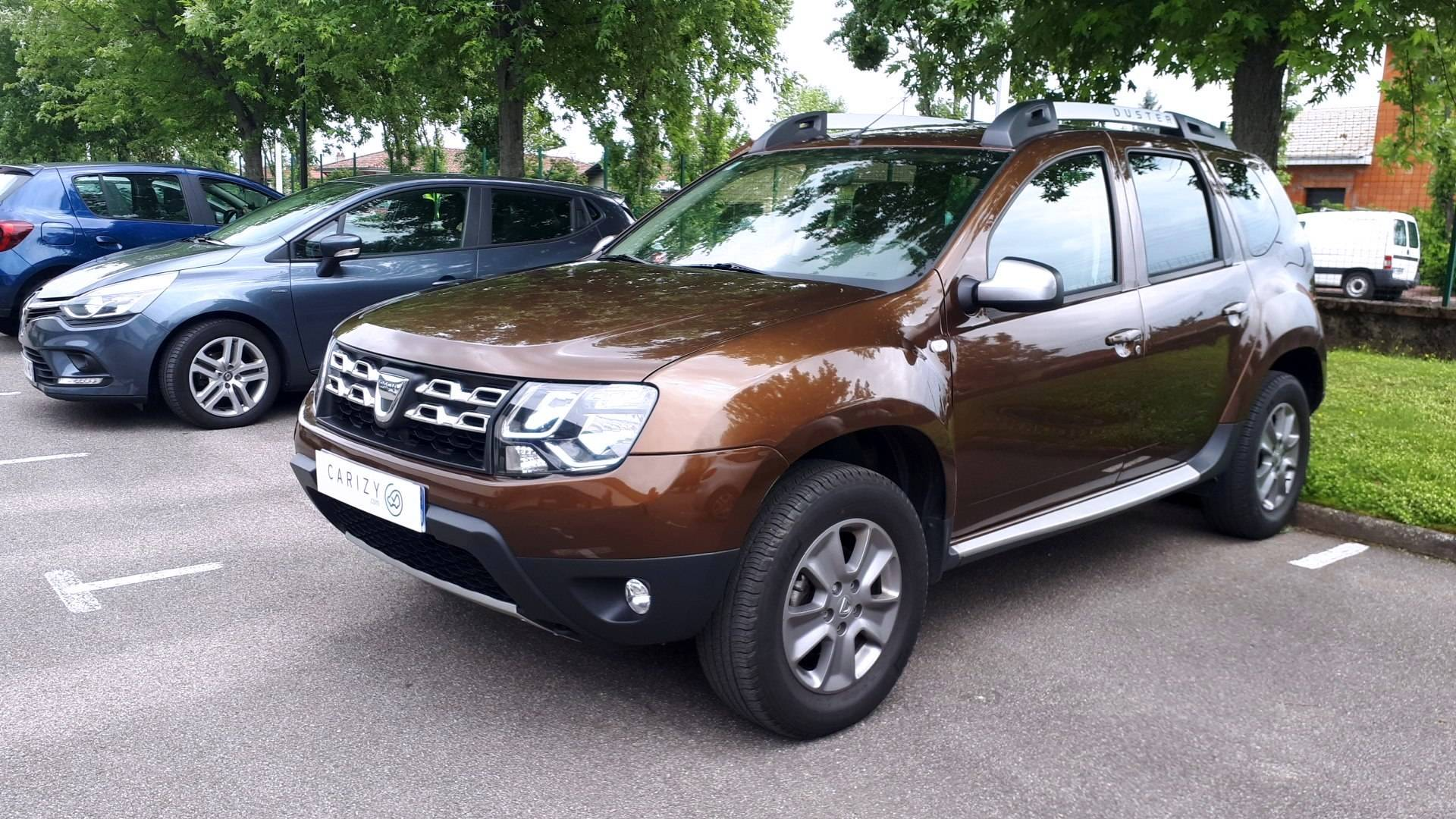 dacia duster d 39 occasion 1 5 dci 110 prestige 4x4 venissieux carizy. Black Bedroom Furniture Sets. Home Design Ideas