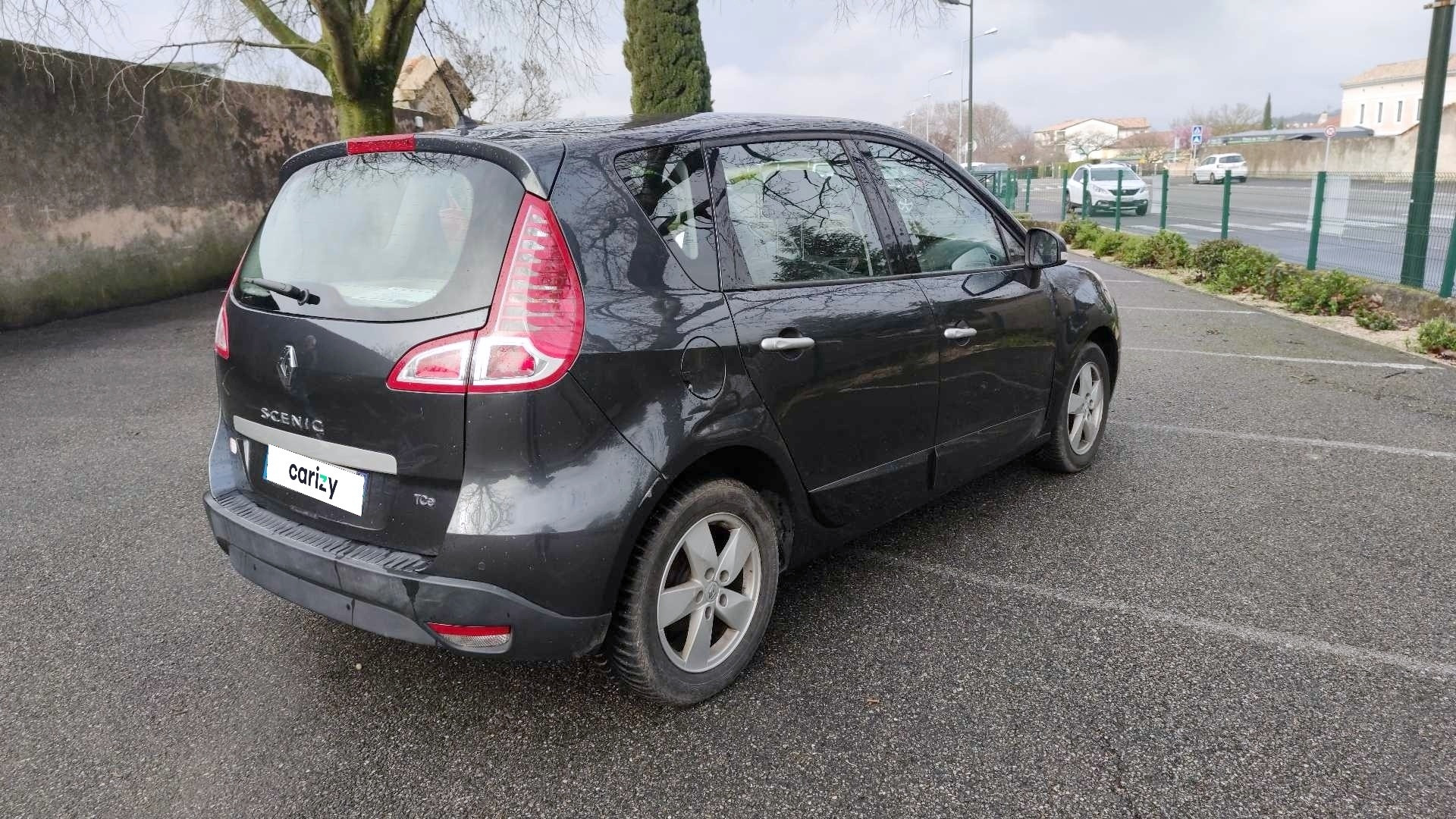 renault scenic iii occasion 2011 profil arriere droit