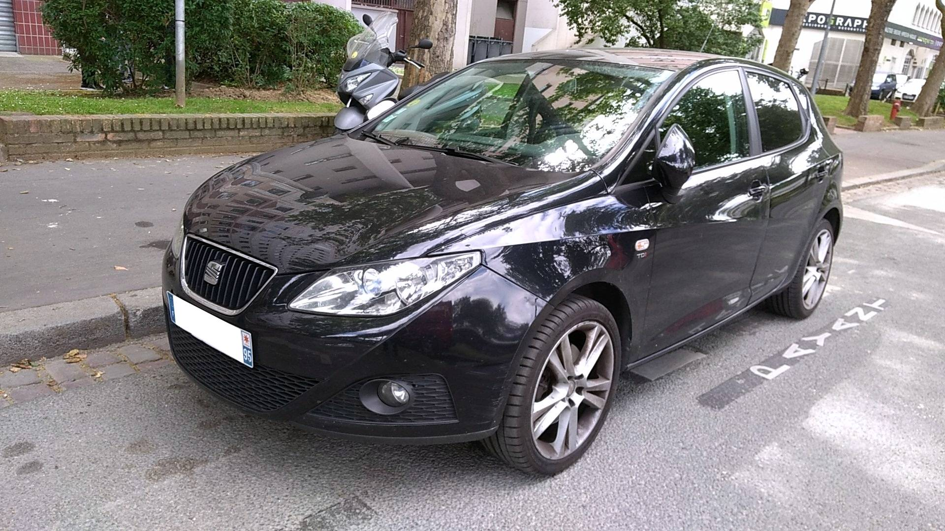 seat ibiza d 39 occasion 1 6 tdi 105 sport ermont carizy. Black Bedroom Furniture Sets. Home Design Ideas