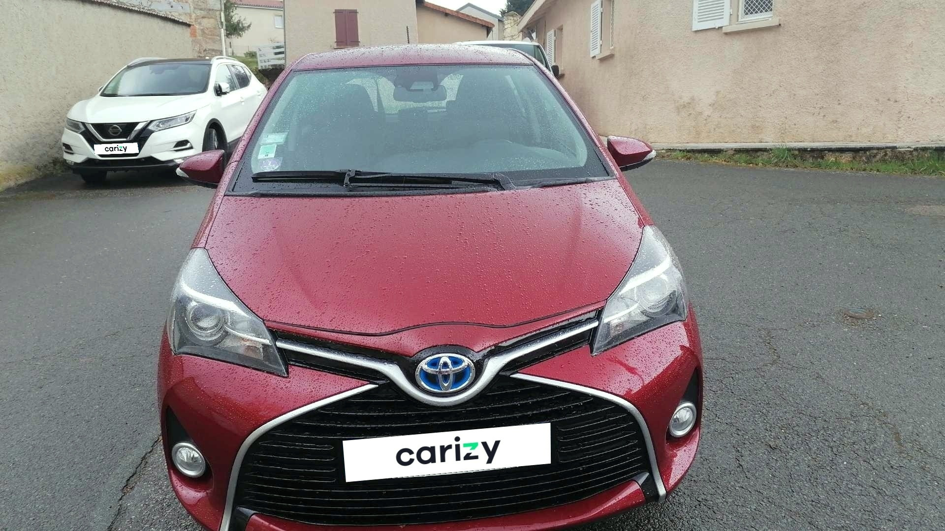 toyota yaris hybride occasion 2017 face capot