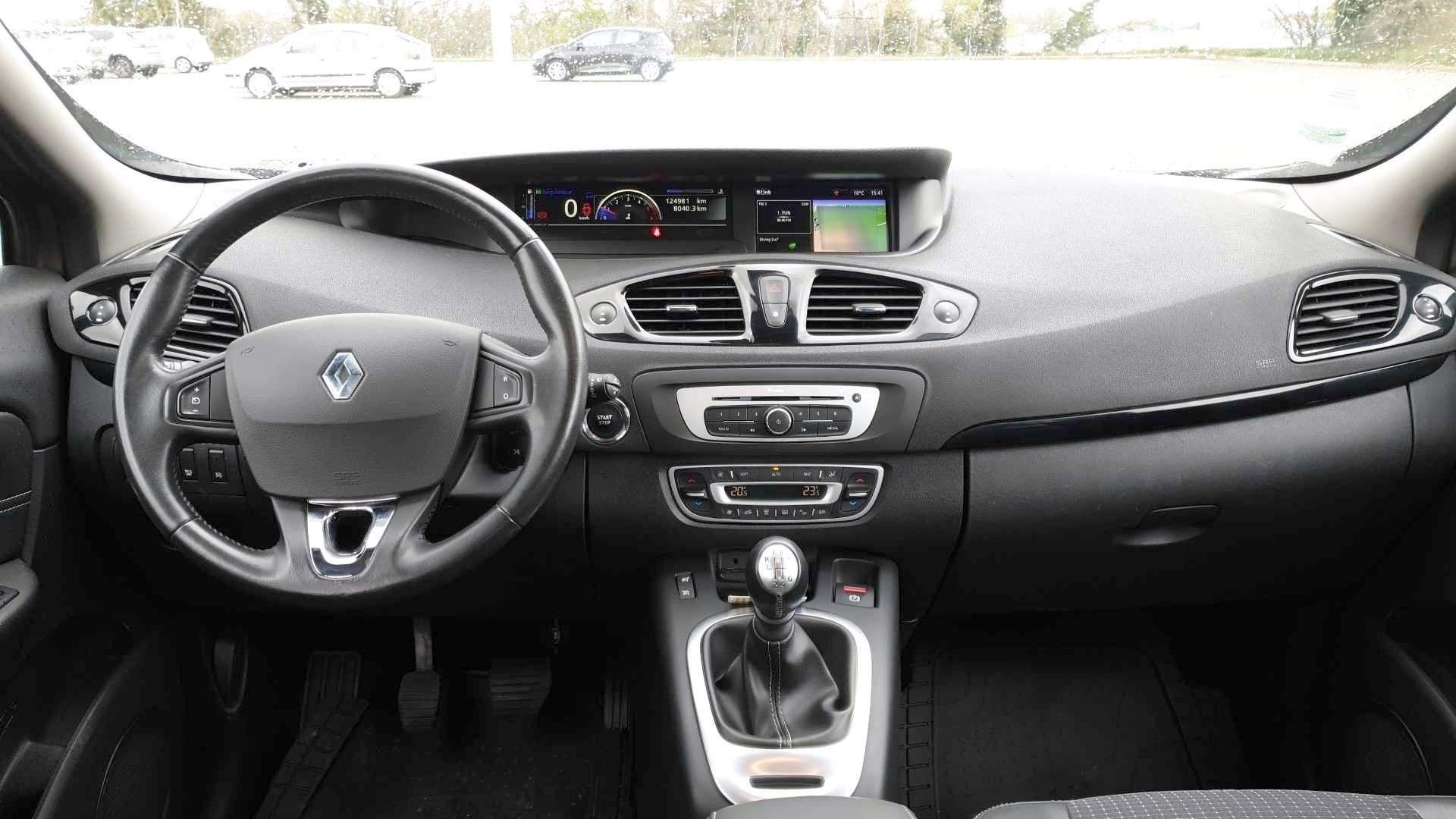 renault scenic iii business occasion 2015 ensemble tableau bord