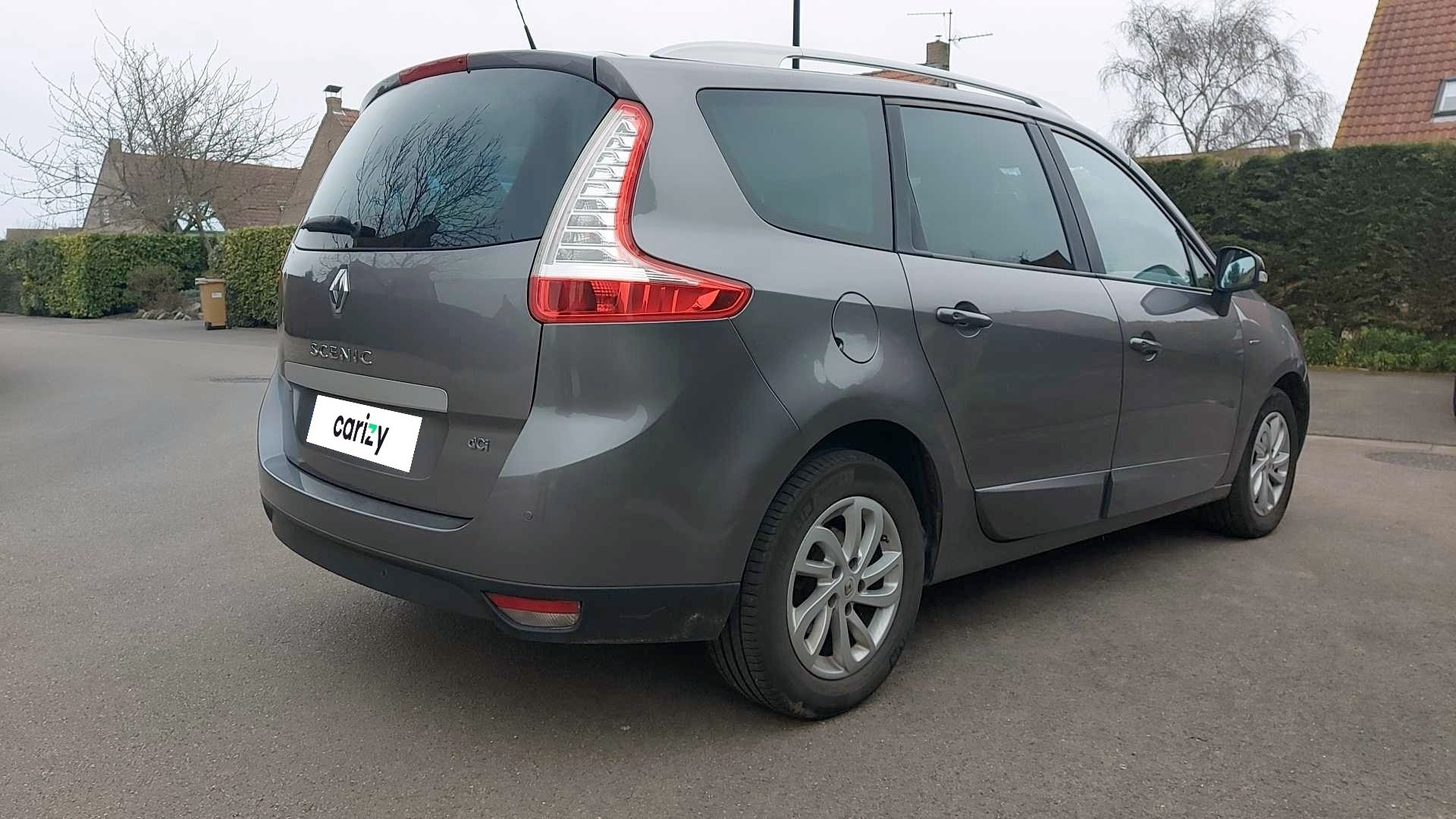renault scenic iii occasion 2015 profil arriere droit