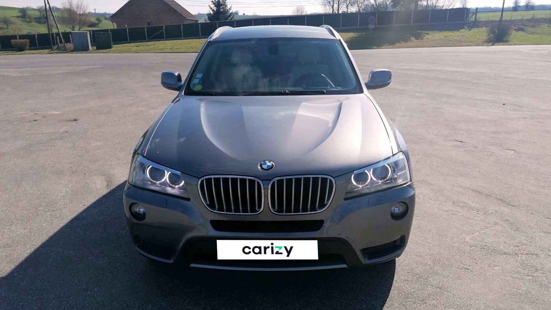 bmw x3 f25 occasion 2012 face capot