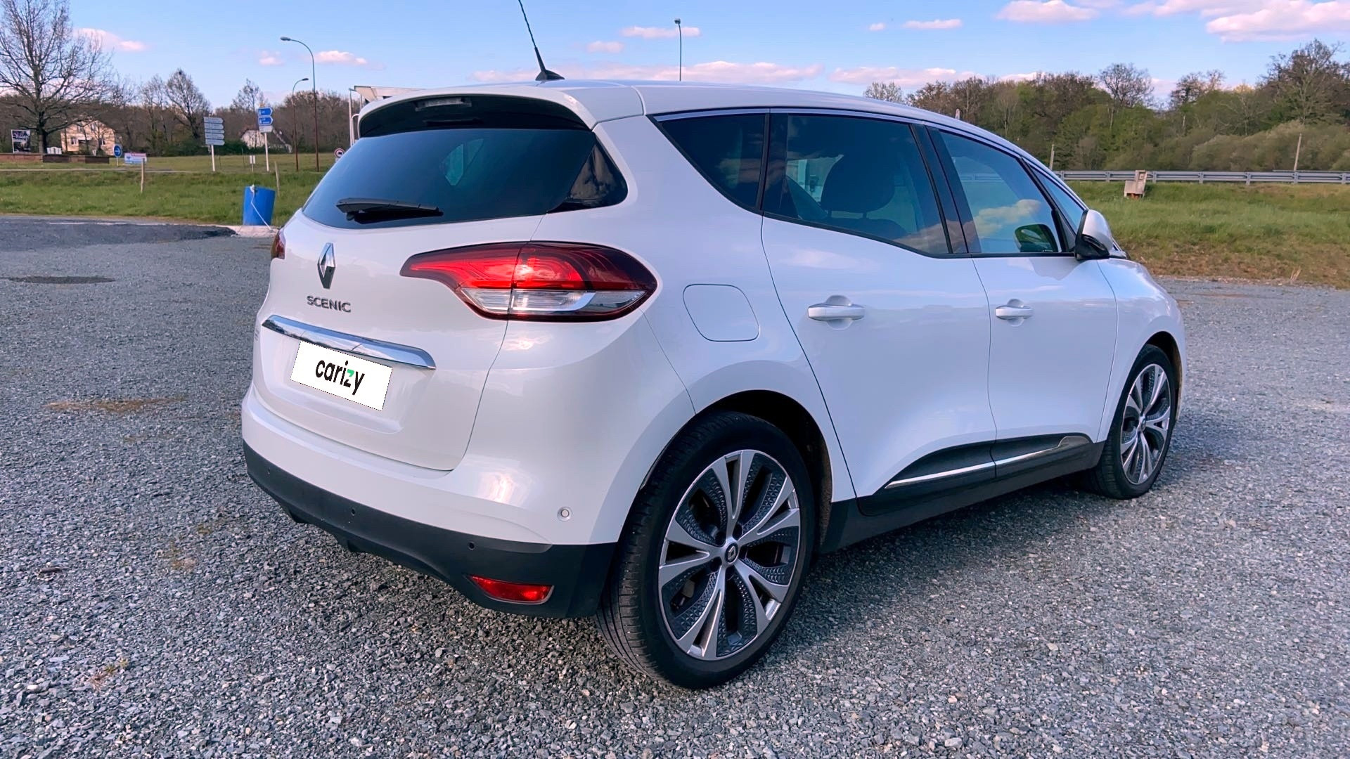 renault scenic iv occasion 2017 profil arriere droit
