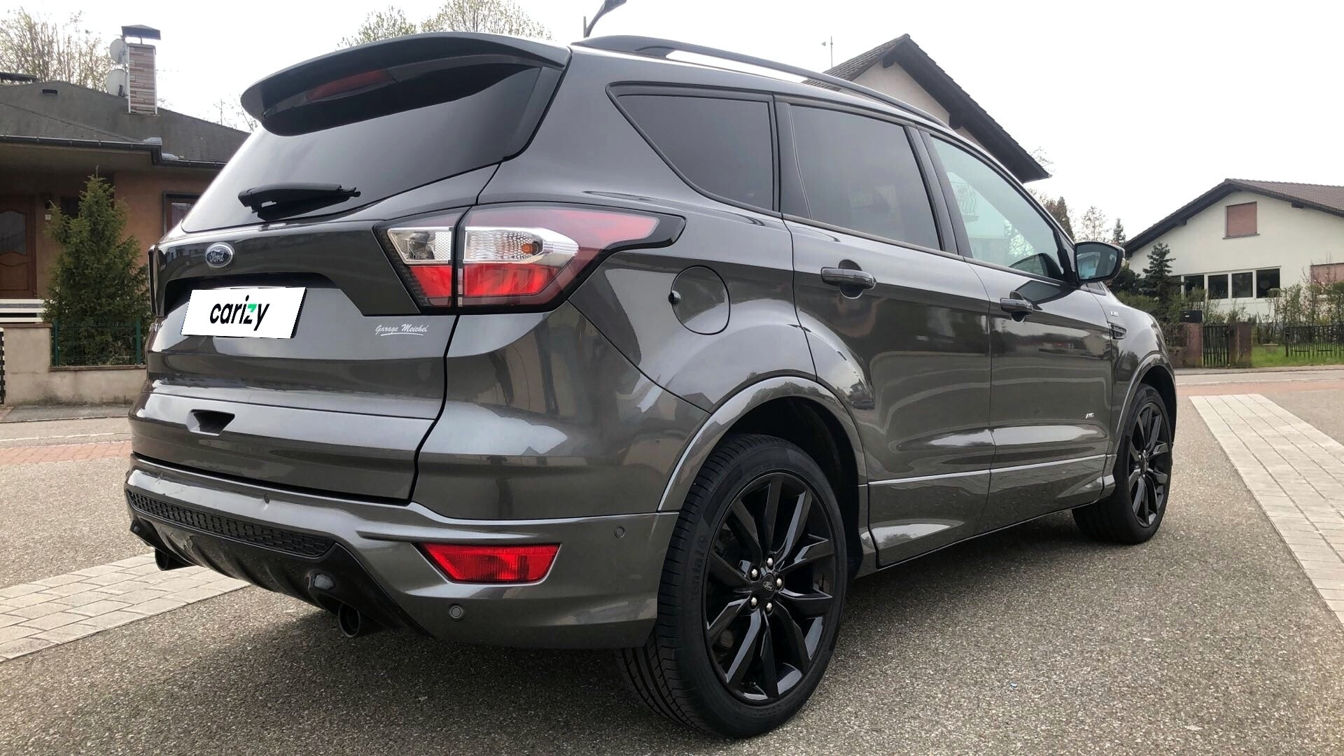 ford kuga occasion 2017 profil arriere droit