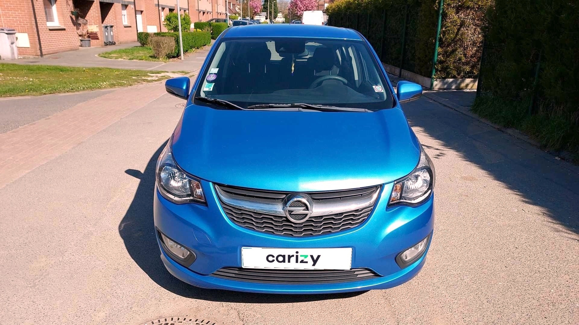 opel karl occasion 2015 face capot