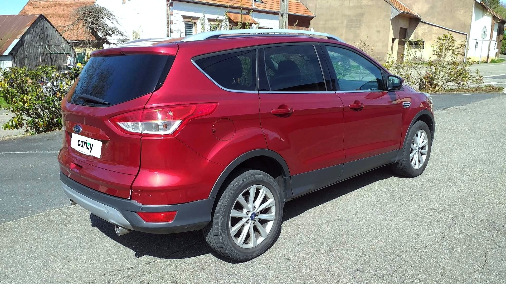 ford kuga occasion 2015 profil arriere droit