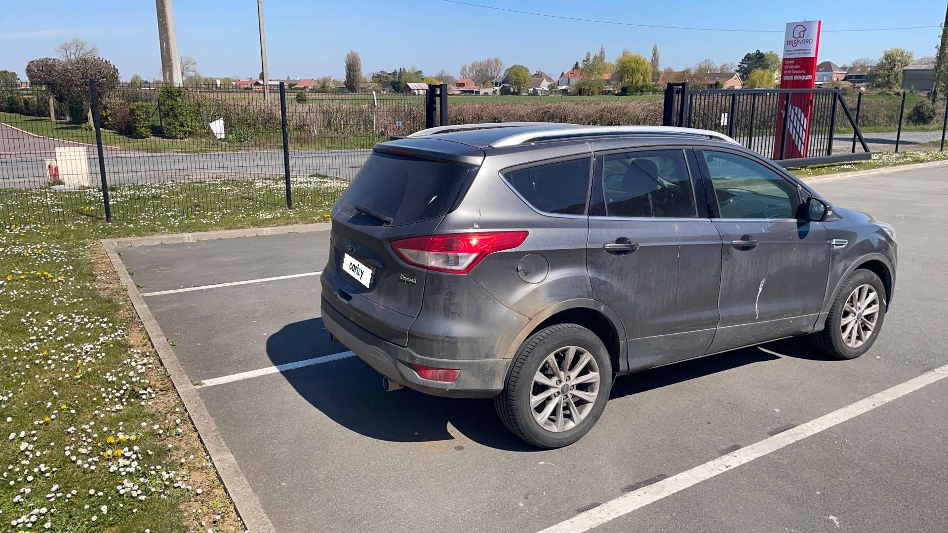 ford kuga occasion 2014 profil arriere droit
