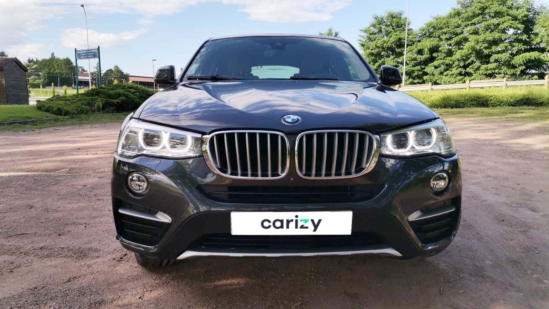 bmw x4 f26 occasion 2016 face capot