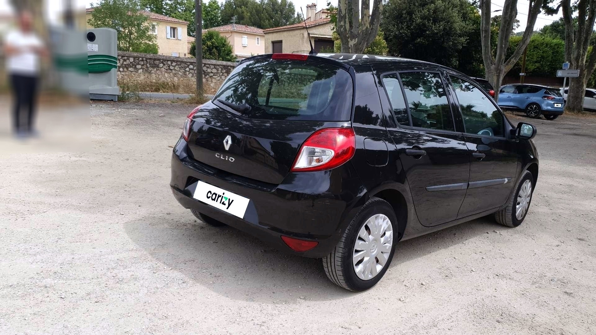 renault clio iii occasion 2011 profil arriere droit
