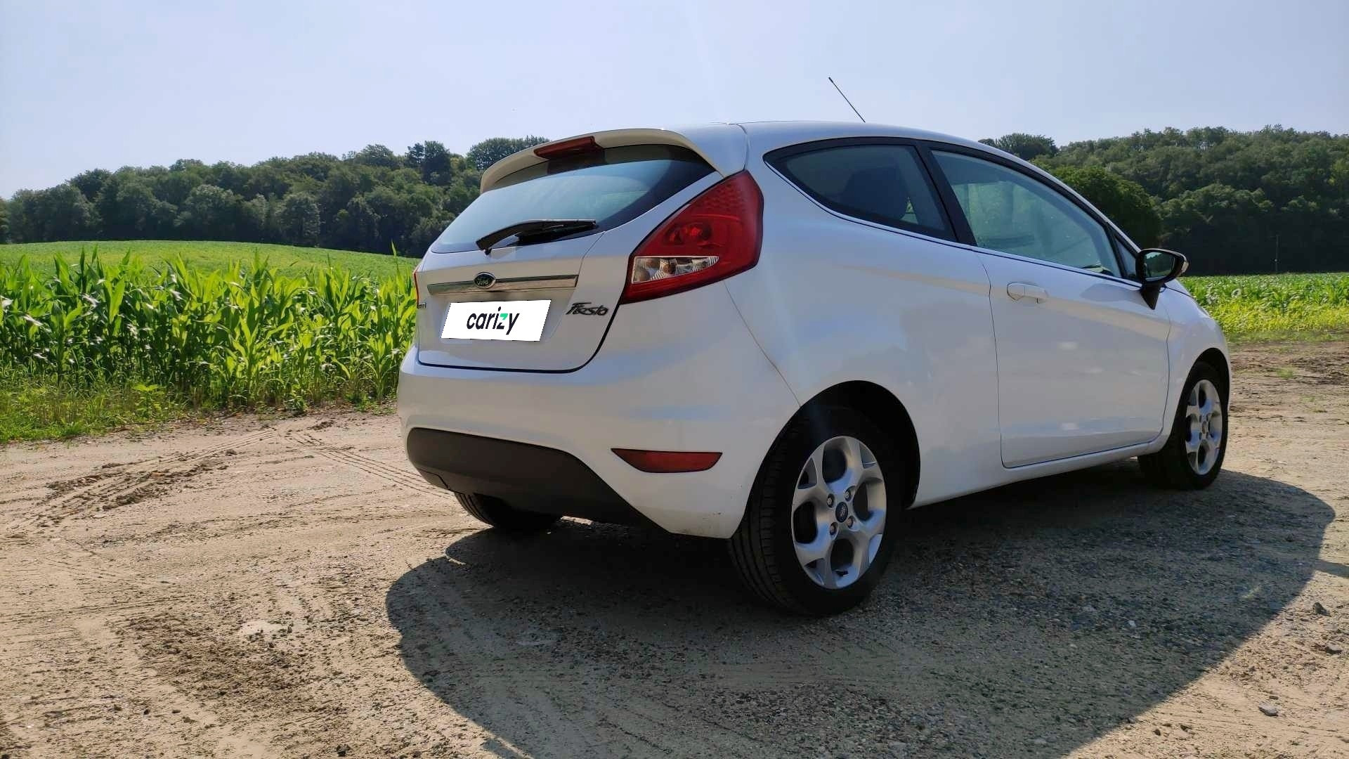 ford fiesta occasion 2011 profil arriere droit