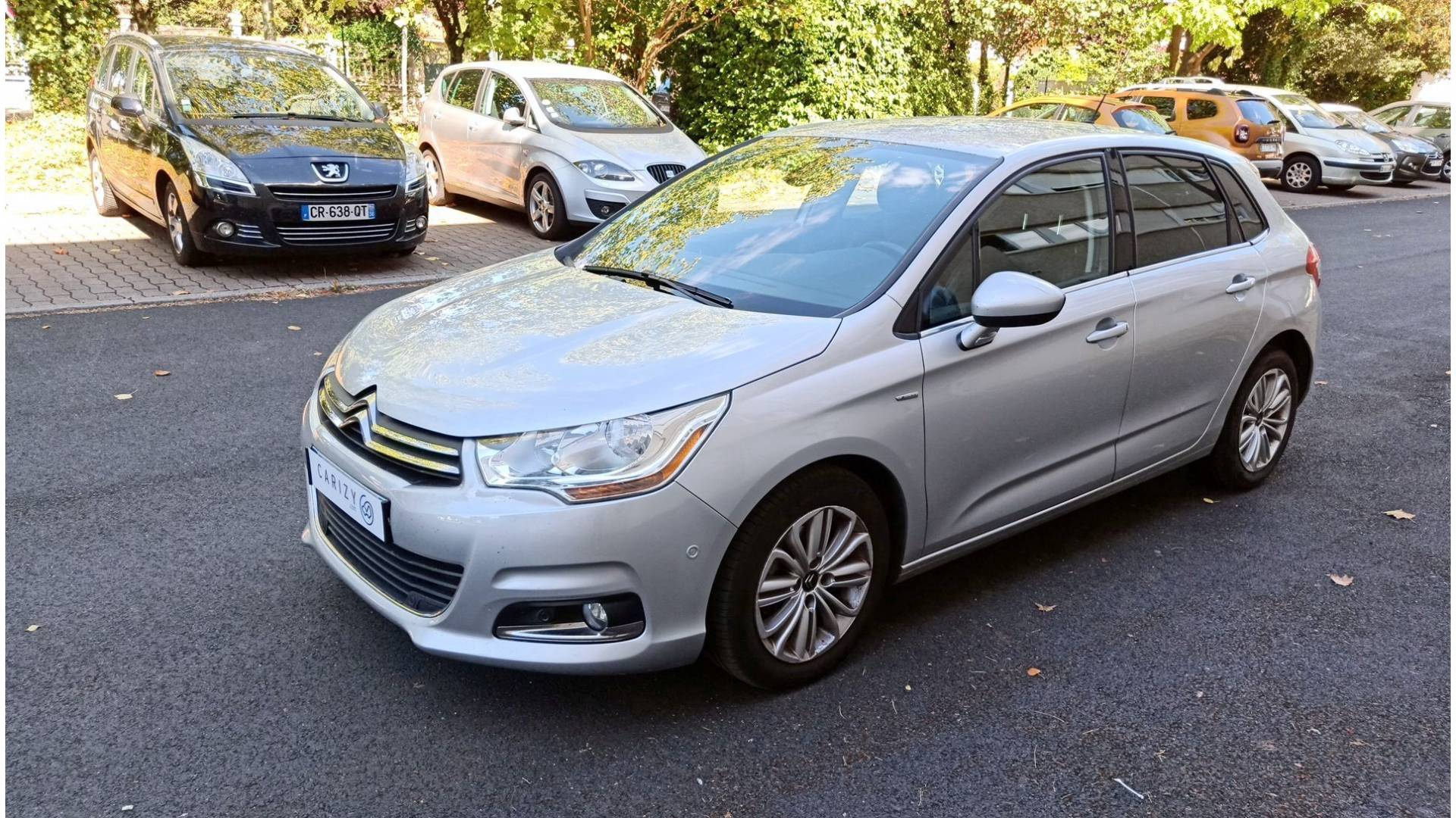 Citroen c4 d 39 occasion 1 6 e hdi 110 exclusive athis mons for Garage citroen athis mons