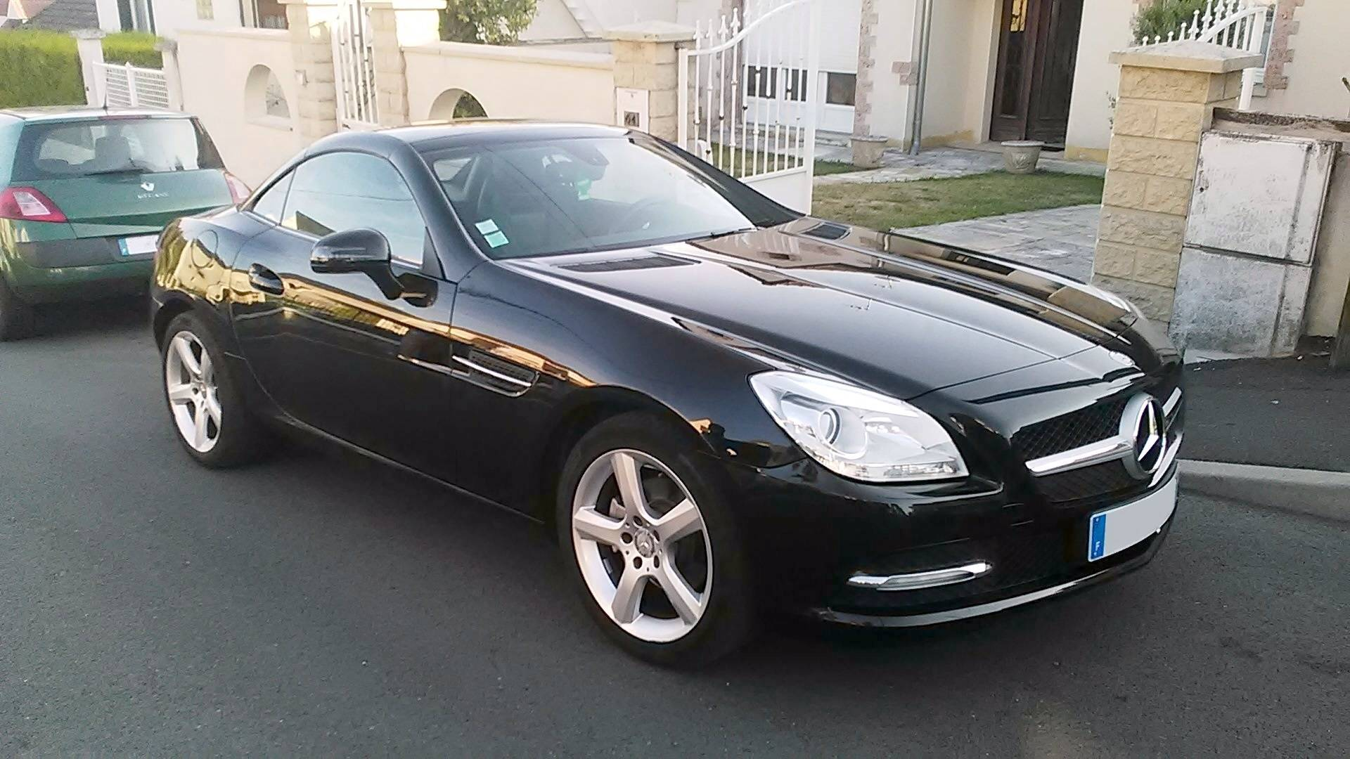 cote auto gratuite mercedes slk 200 k 2007 11 cv 10113064. Black Bedroom Furniture Sets. Home Design Ideas