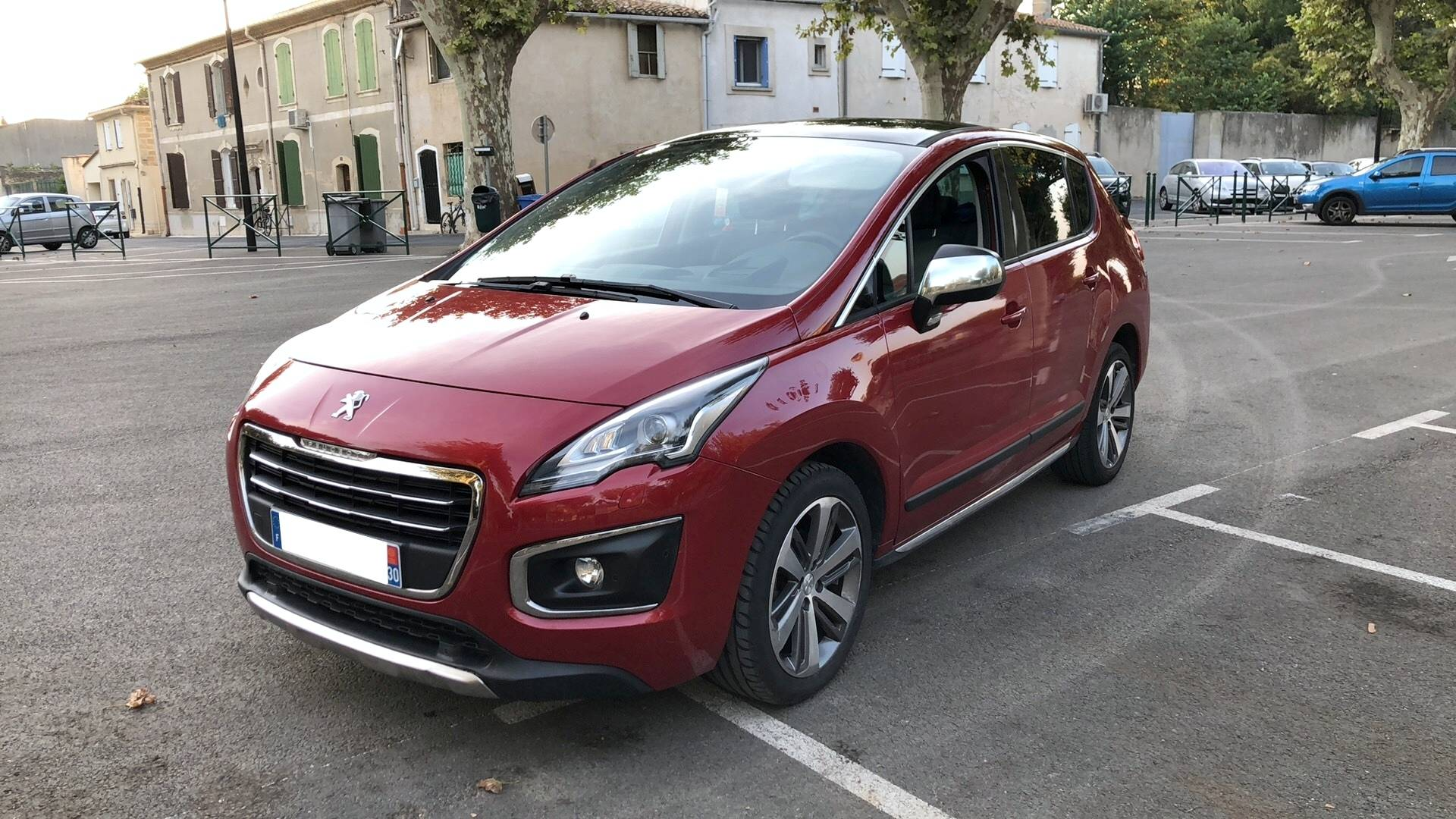 peugeot 3008 d'occasion 1.6 hdi 110 feline baillargues   carizy