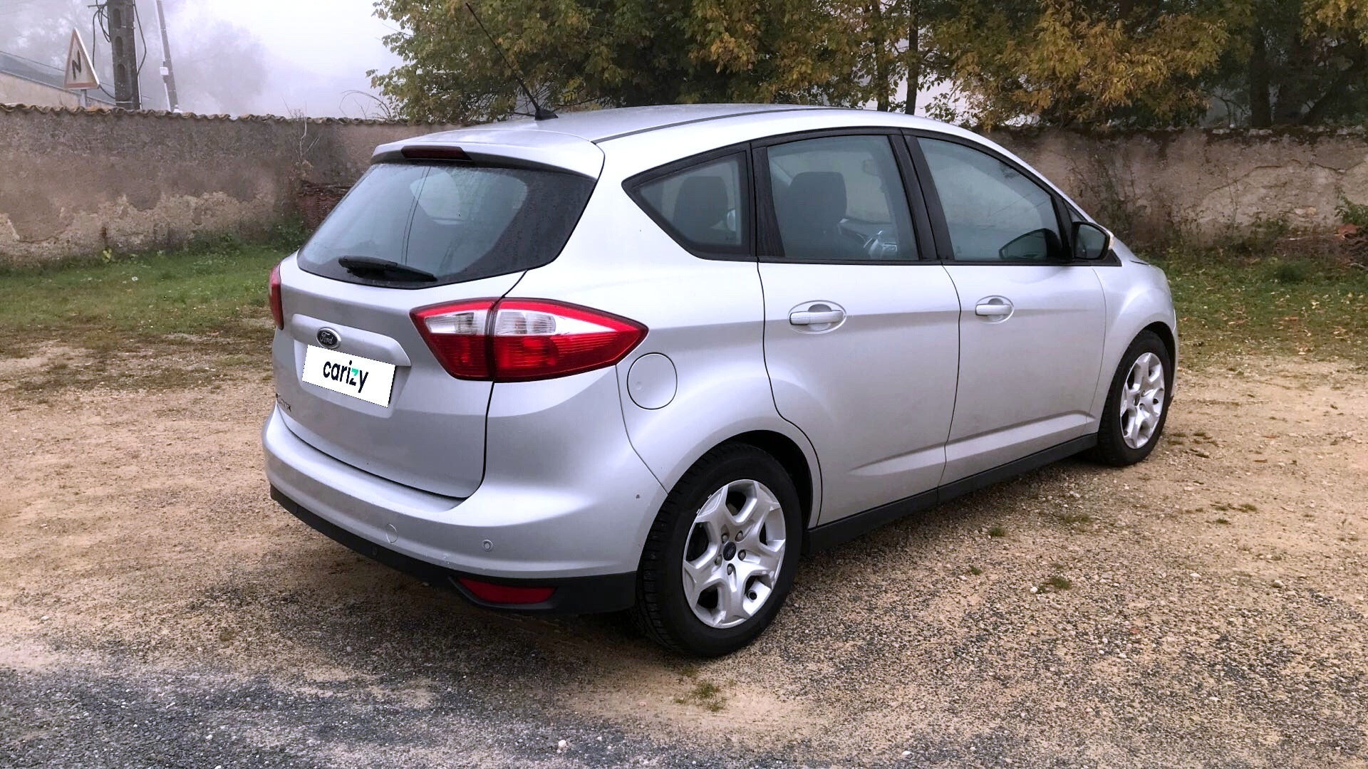 ford c max occasion 2012 profil arriere droit