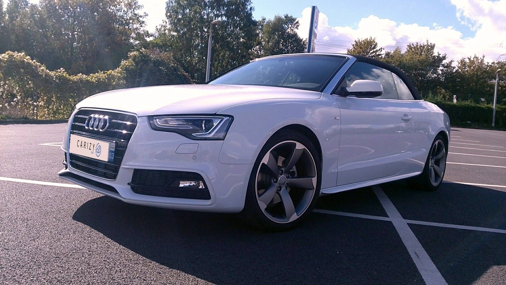 audi a5 d 39 occasion cabriolet 1 8 tfsi 170 s line athis mons carizy. Black Bedroom Furniture Sets. Home Design Ideas