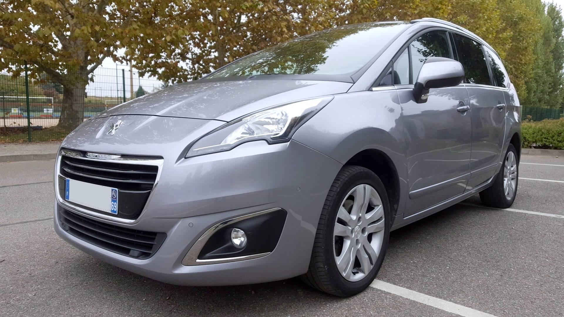 Peugeot 5008 d 39 occasion generation i 1 6 bluehdi 120 - Acheter une voiture d occasion dans un garage ...