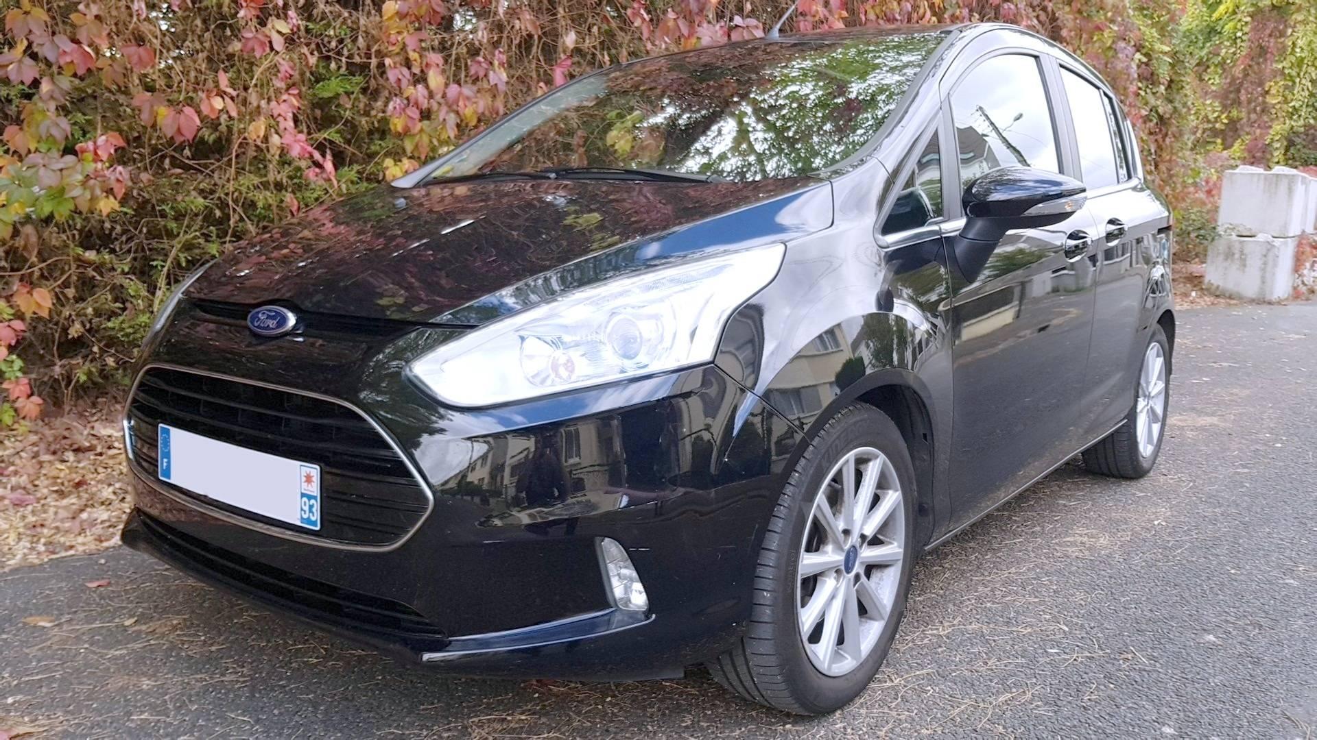Ford b max d 39 occasion 1 6 tdci 95 titanium pantin carizy - Acheter une voiture d occasion dans un garage ...