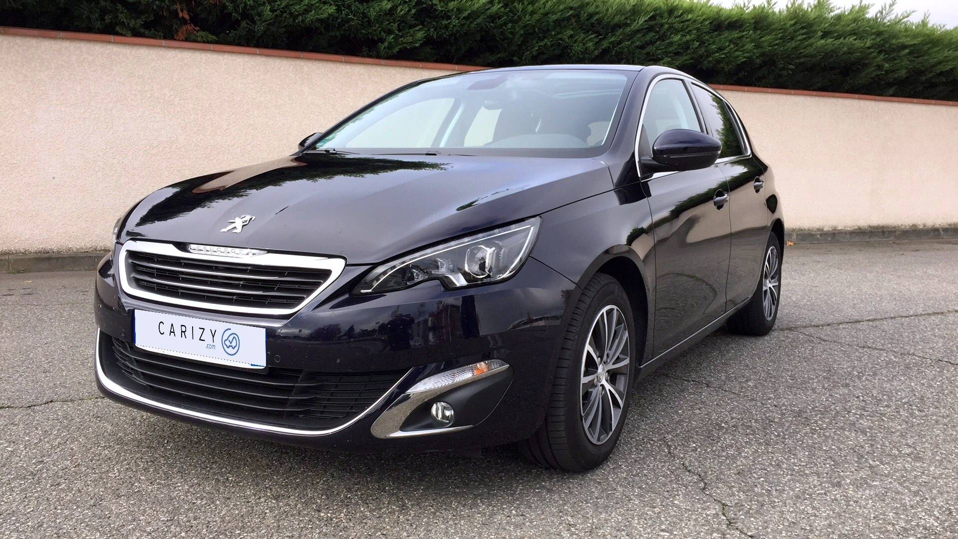 peugeot 308 d 39 occasion 1 6 bluehdi 120 allure start stop toulouse carizy. Black Bedroom Furniture Sets. Home Design Ideas