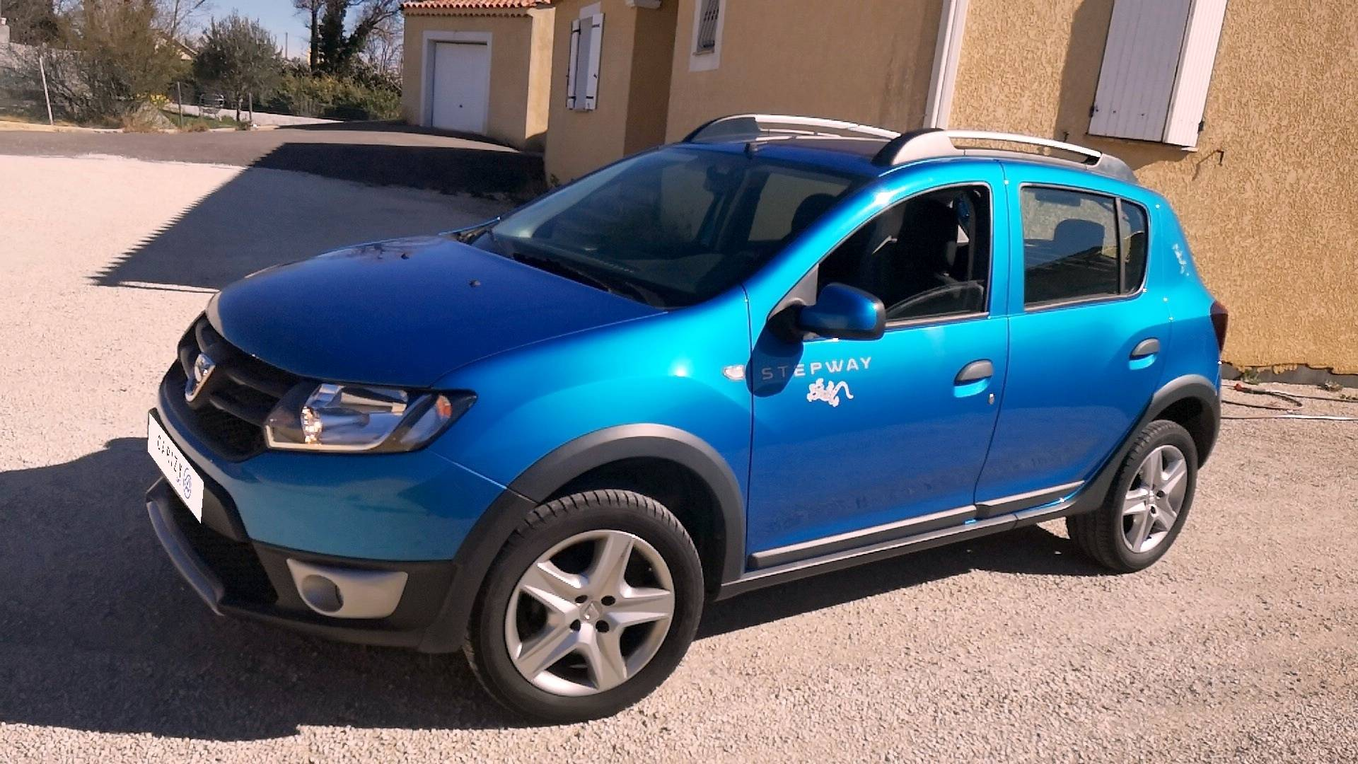 dacia sandero d 39 occasion stepway 0 9 tce 90 ambiance pierrelatte carizy. Black Bedroom Furniture Sets. Home Design Ideas