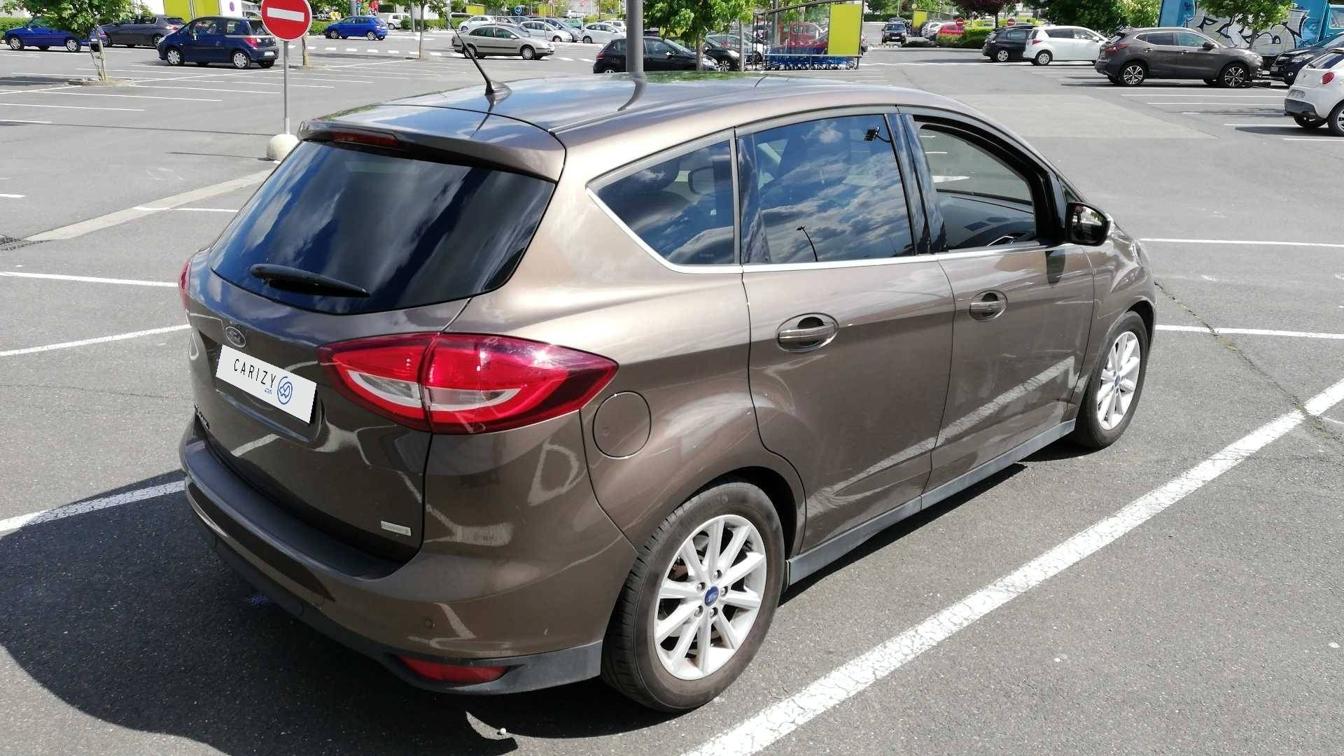 ford c max occasion 2015 profil arriere droit