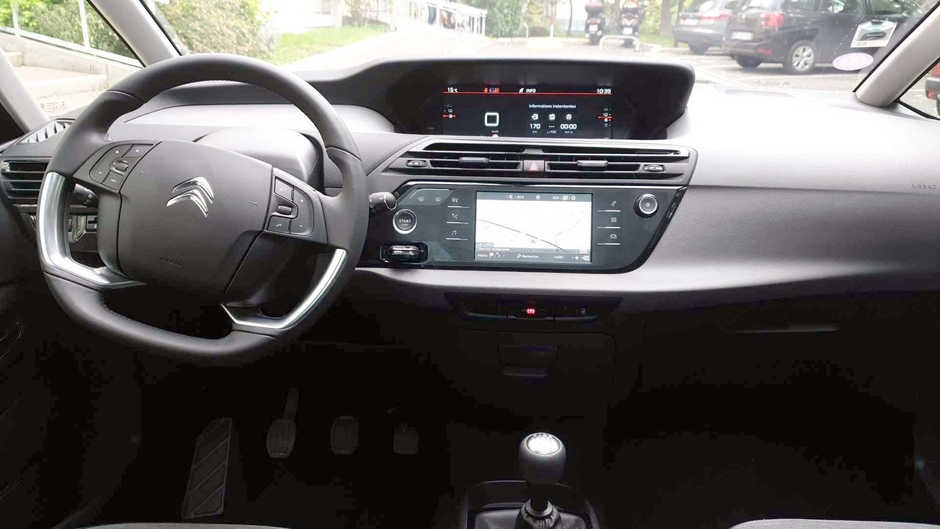 Citroen Grand C4 Spacetourer D Occasion Grand C4 Spacetourer Puretech 130 S S Feel Versailles Carizy