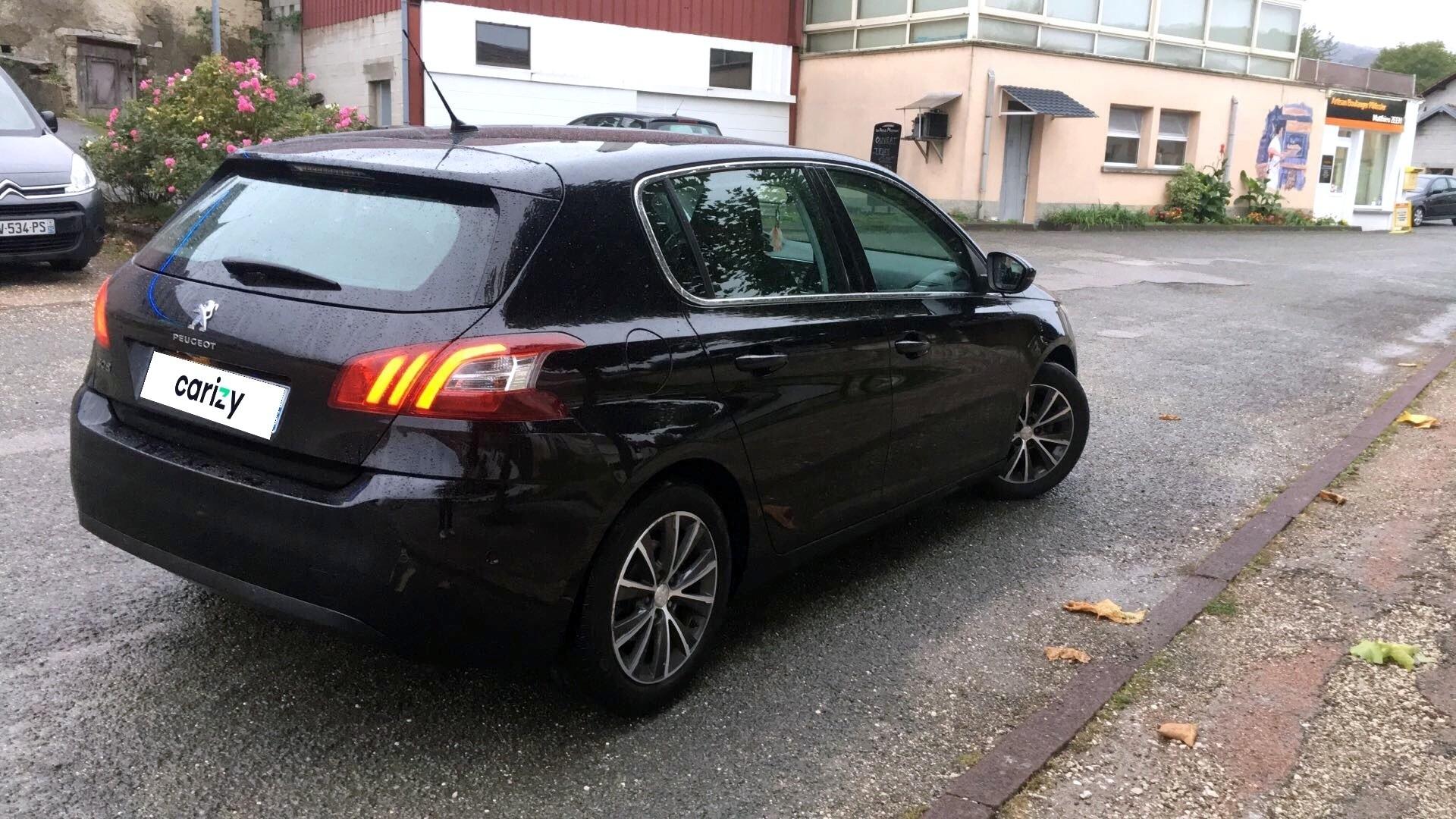 Peugeot 308 D U0026 39 Occasion 308 1 6 Thp 125 Ch Bvm6 Allure Pont